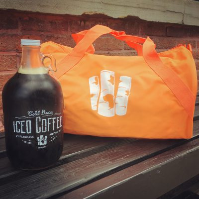 Growler of delicious Cold Brew Iced Coffee not included.